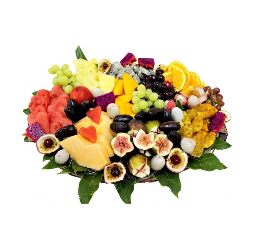 סלסלת פירות קסם טרופיקני