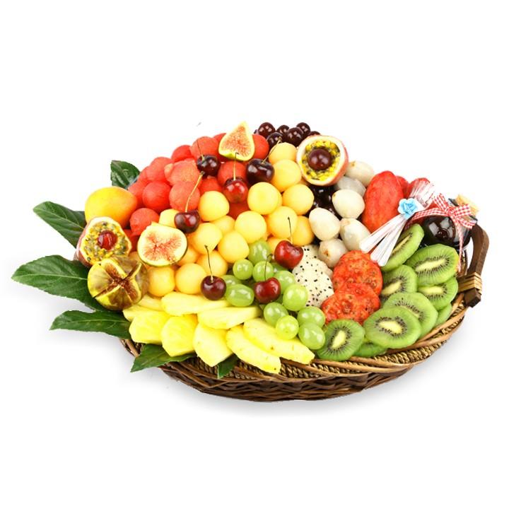 סלסלת פירות טנא טרופיקני