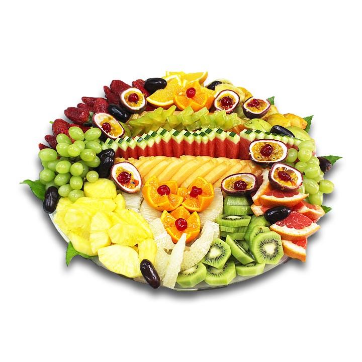 """מגש פירות טרופיקני- 40 ס""""מ"""
