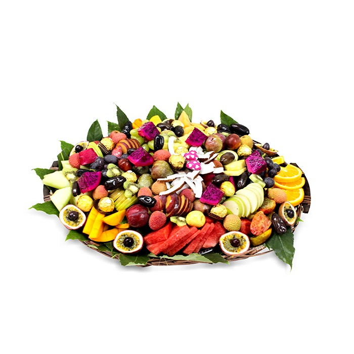סלסלת פירות פינוק טרופיקני